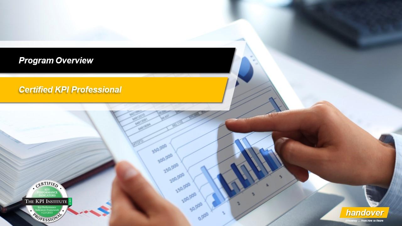 Certified KPI Professional (24 – 26 June 2019) – Amman | Handover