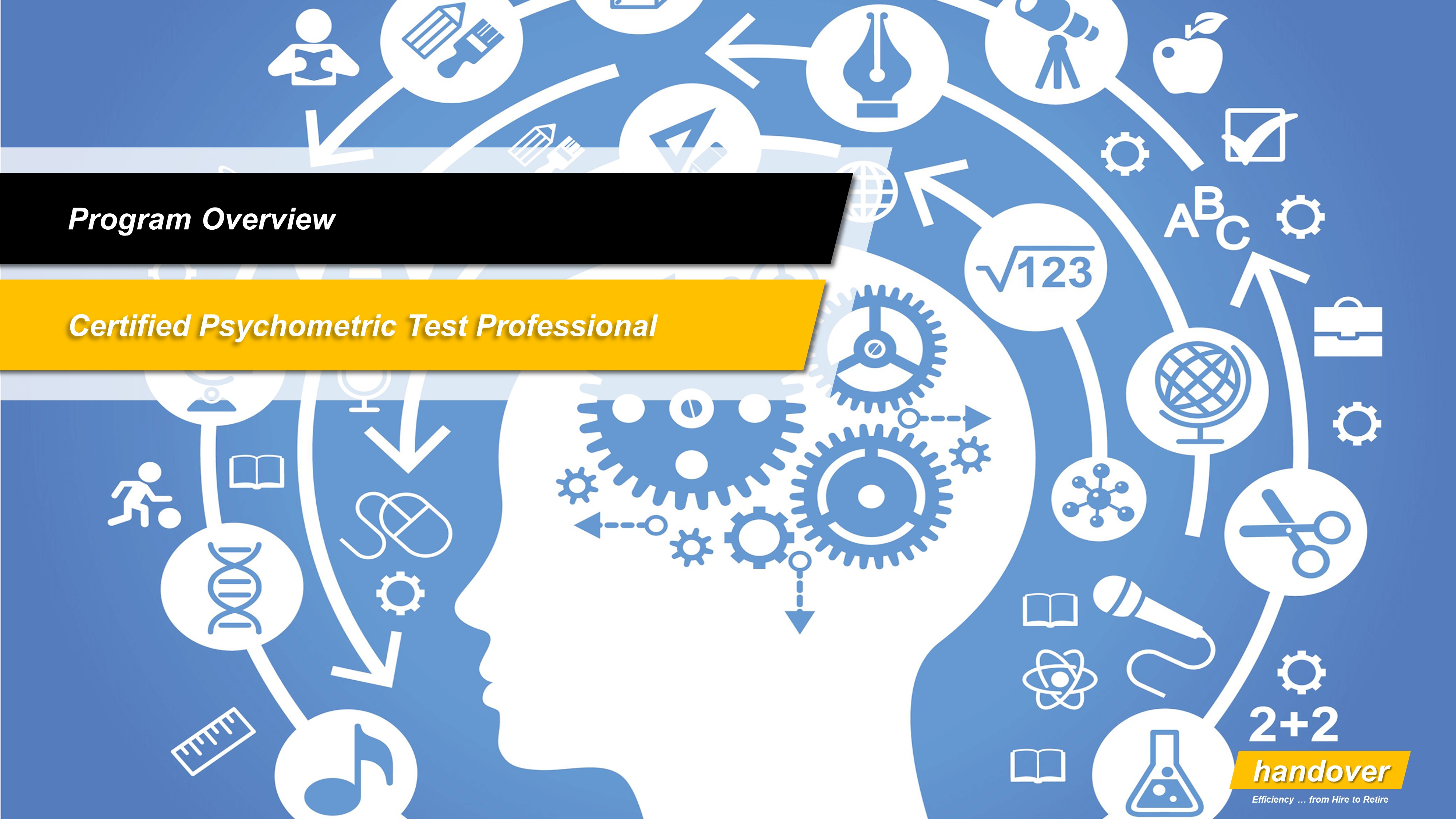 Hr certification programs handover consulting certified psychometric testing professional xflitez Choice Image